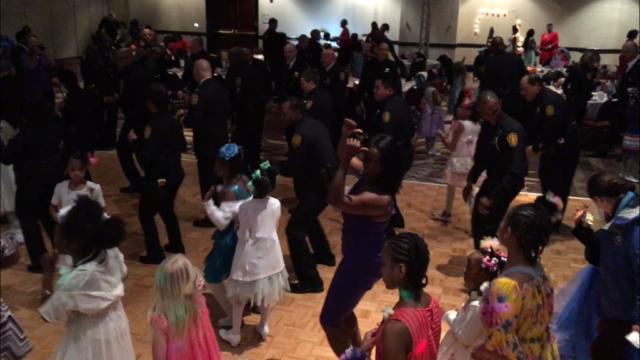 Cops & Curls event